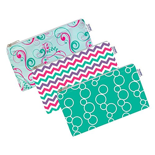 Cloth Snack Bags – Set of 3 – Yummi Pouch (Sweet)